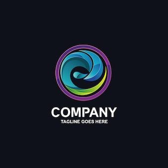 Wave-logo-design-vektor