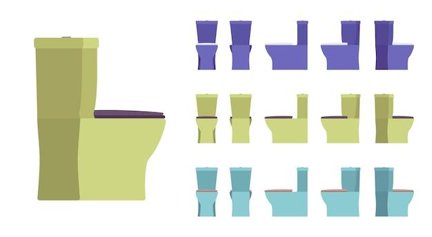 Wc-badezimmer-set