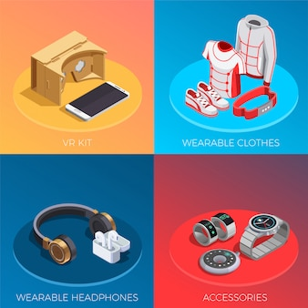 Wearable technology isometrisches set