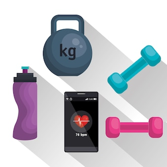 Weareable technologie mit gesundem lebensstil