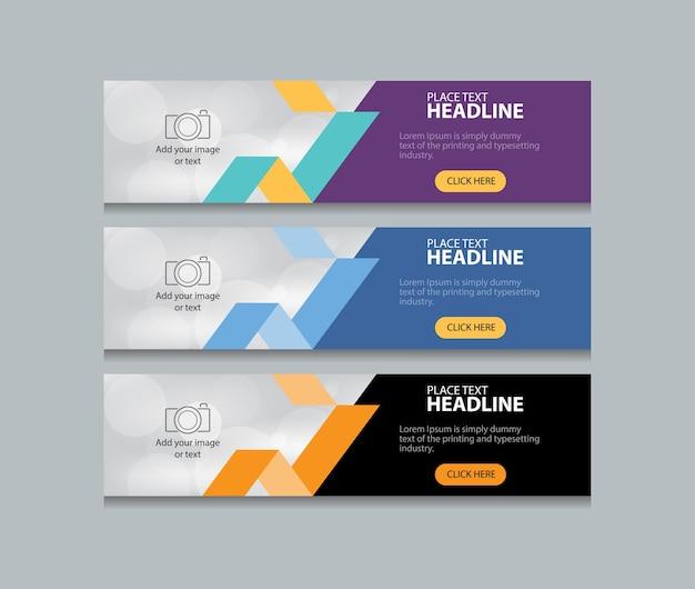 Web-banner-design-vorlage