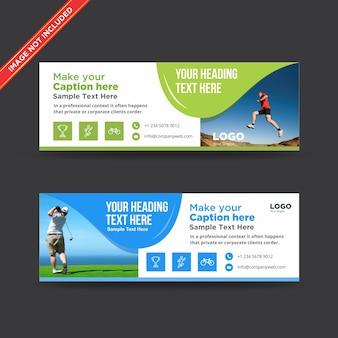 Web banner designvorlage