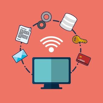 Web-hosting-computer-design