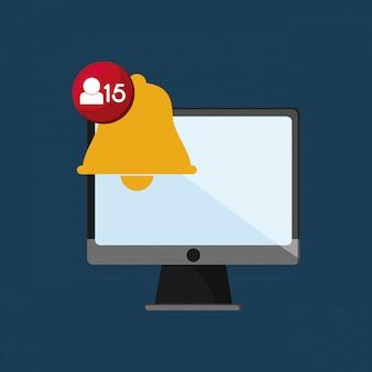 Web-messaging über computerbild