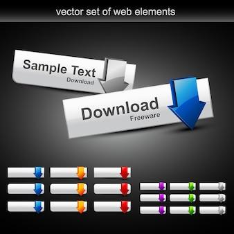 Web-schaltflächen herunterladen