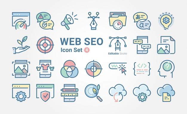 Web-seo-icon-sammlung