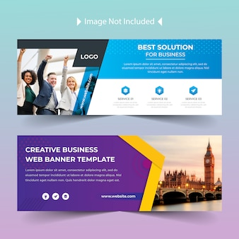 Web social media facebook cover bundle