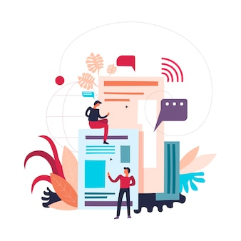 Web- und audio-elemente, nachrichten und websites
