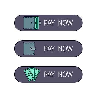 Web-Zahlungstaste