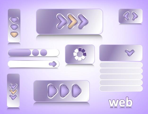 Webdesign-elemente