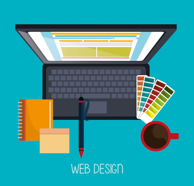 Webdesign-entwicklung