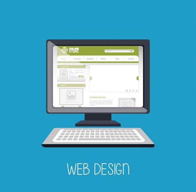 Webdesign online-medien