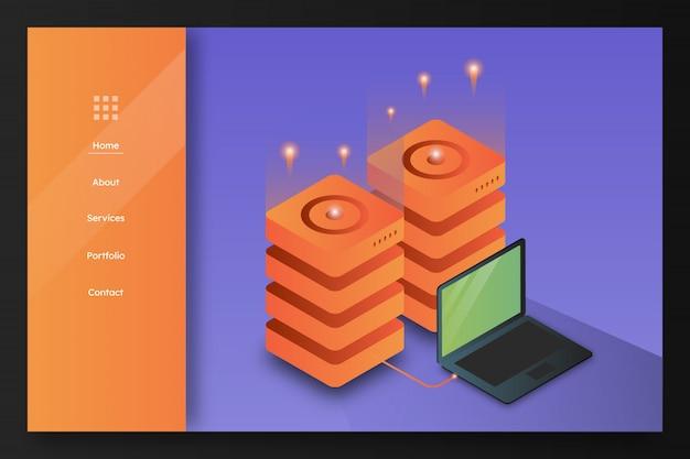 Webhosting-server