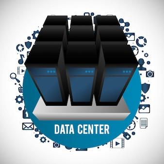 Webhosting und datensicherheitsentwurf