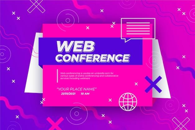 Webinar banner einladung