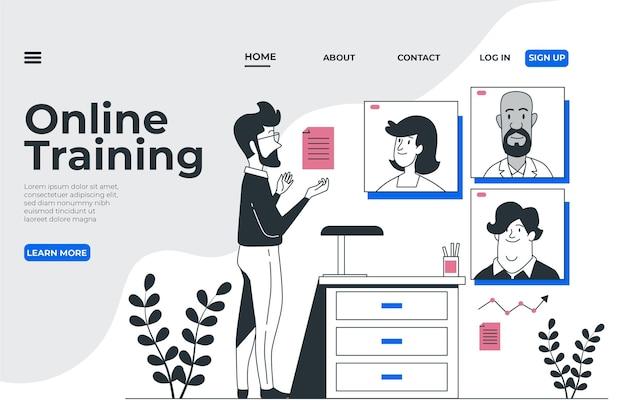 Webinar-landingpage-vorlage