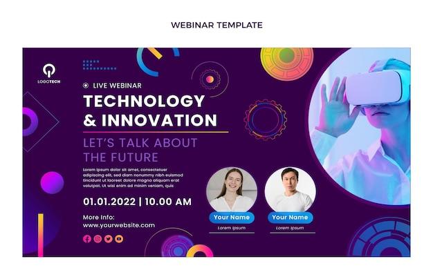 Webinar zur technologie der farbverlaufstextur