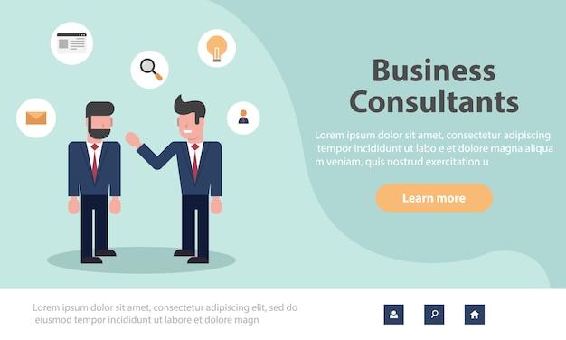 Webseiten-design-vorlagen für business-anwendungen