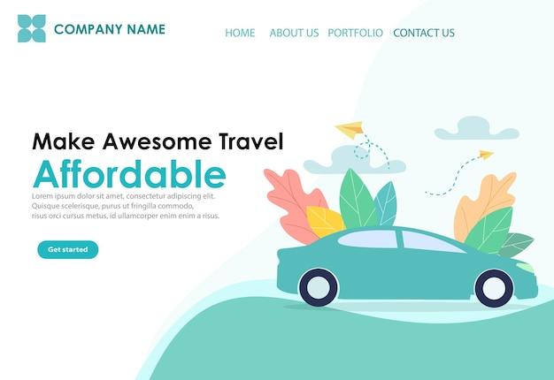 Webseiten-design-vorlagen für die website-entwicklung. website-ui-design mit minimalem ui-design für entwickler.