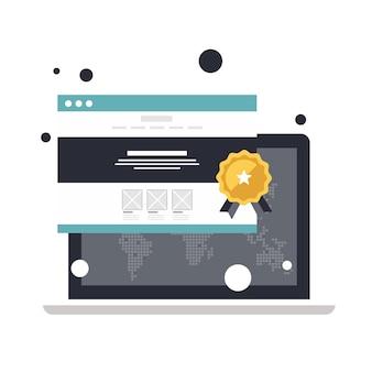 Website-bewertung