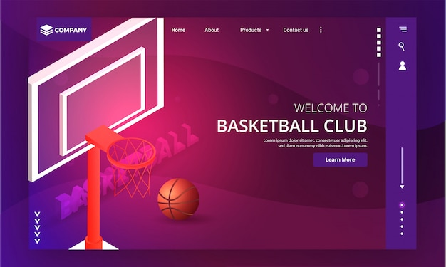 Website des basketballclubs.