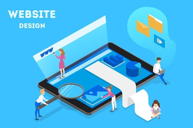 Website-design-illustration