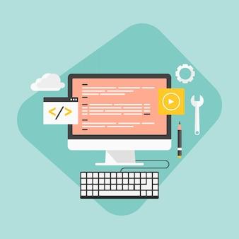 Website-entwicklung und codierung