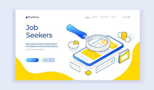 Website für jobsuchende