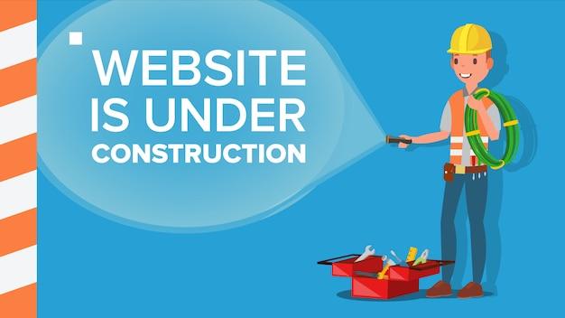 Website im aufbau