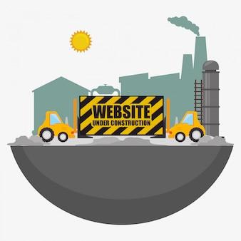 Website im bau
