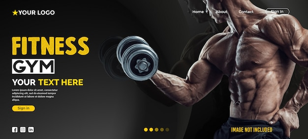 Website-landing-page-fitness