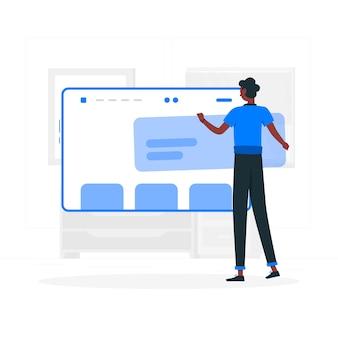 Website-setup-illustration-konzept