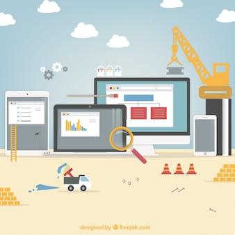 Website unter konstruktion