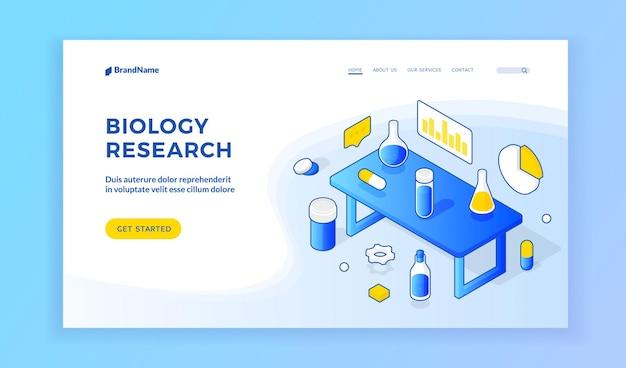 Website zur biologieforschung.