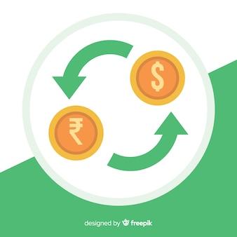 Wechselkurs der indischen rupie