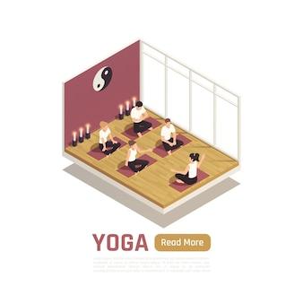 Weg des persönlichen wachstums durch isometrische komposition zur selbstverbesserung der yoga-meditation mit lotus-positionskurs