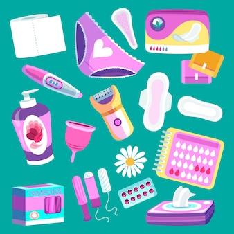 Weibliche hygiene