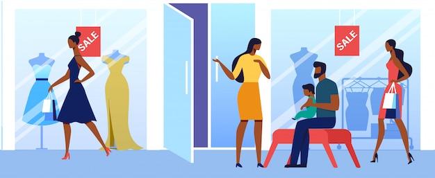Weibliche kleidung großhandel flach
