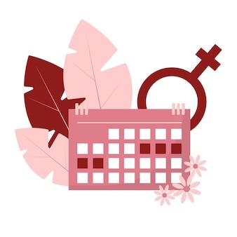 Weibliche menstruation frauen mit perioden- und hygieneprodukt tamponbinden und menstruationstasse