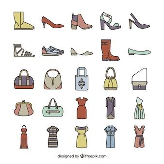 Weibliche mode-ikonen