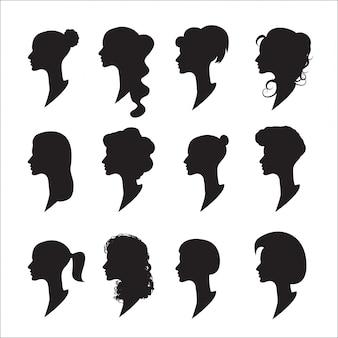 Weibliche profile