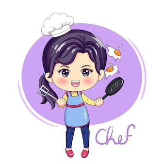 Weiblicher chef