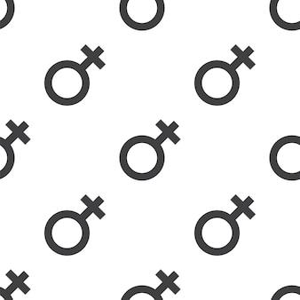 Weibliches, nahtloses vektormuster, editierbar kann für webseitenhintergründe verwendet werden, musterfüllungen