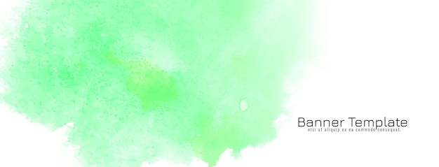 Weiche grüne aquarelltextur