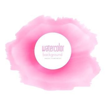 Weichen rosa aquarell fleck hintergrund