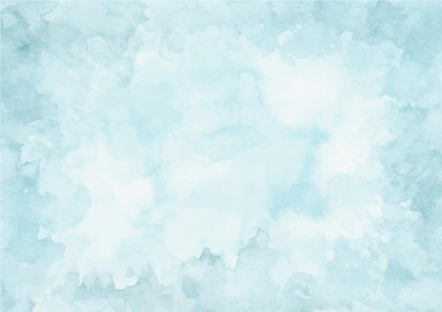 Weicher blauer abstrakter beschaffenheitshintergrund mit aquarell