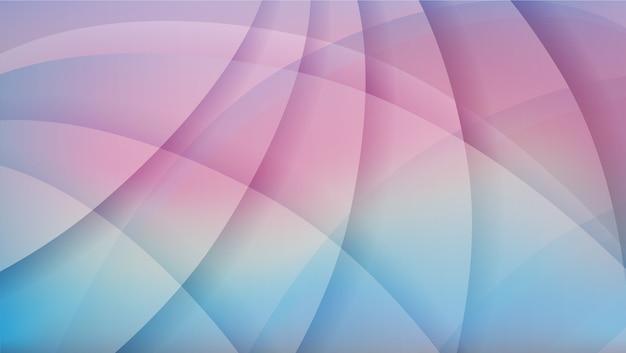 Weicher blauer und rosa abstrakter sonnenunterganghintergrund