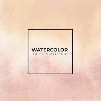 Weicher brauner aquarellbeschaffenheitshintergrund, handfarbe.