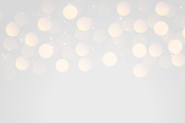 Weicher grauer bokeh lichteffekthintergrund