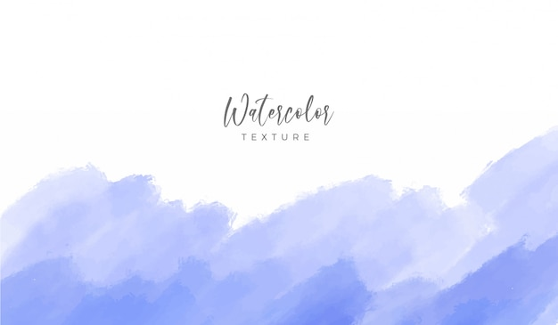 Weicher pastellblauer aquarell-hintergrund